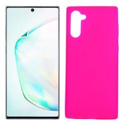Funda Rosa Samsung Galaxy Note 10 de silicona