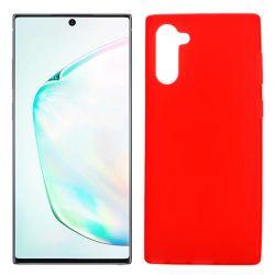 Funda Roja Samsung Galaxy Note 10 de silicona
