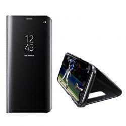 Funda libro de espejo Clear View para Samsung Galaxy A20E Negro