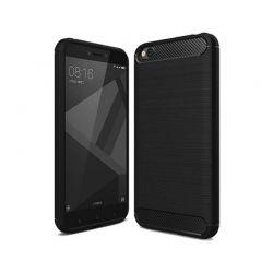 Funda Silicona diseño fibra de carbono - Xiaomi Redmi Go