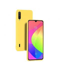 Funda de Silicona Suave Premium para Xiaomi Mi A3 Amarillo