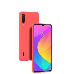 Funda de Silicona Suave Premium para Xiaomi Mi A3 Rojo
