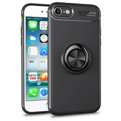 Funda magnética con soporte de anillo para iPhone 7 / iPhone 8