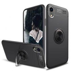 Funda magnética con soporte de anillo para iPhone Xr