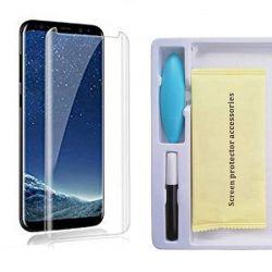Protector Pantalla Cristal Templado UV Curvo para Samsung Galaxy S8