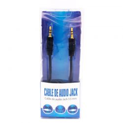 Cable Jack 3.5mm Estéreo Macho / Macho 1,5 metros