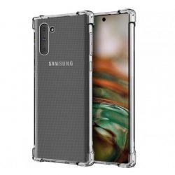Funda Transparente de Silicona Antishock para Samsung Galaxy Note 10