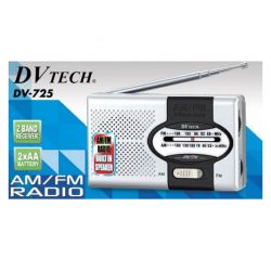 Radio portátil AM / FM DV TECH DV-725 Color Gris