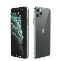 Funda de Silicona Transparente para iPhone 11 Pro