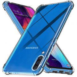 Funda esquinas reforzadas de Silicona - Samsung Galaxy A50