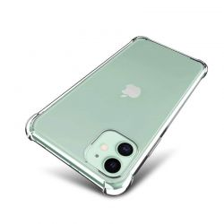 Funda transparente con esquinas reforzadas de silicona - iPhone 11