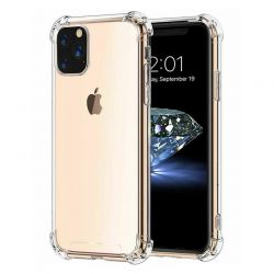 Funda transparente con esquinas reforzadas de silicona - iPhone 11 Pro Max