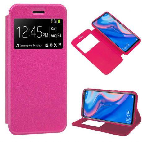 Funda libro Flip Cover Tapa, Ventana y Soporte Huawei P Smart Z