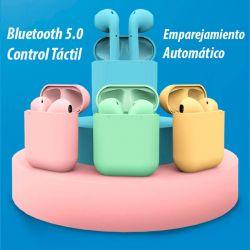 Auriculares Bluetooth Inpods 12 TWS Inalámbricos con Dock de carga