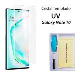 Protector Pantalla Cristal Templado UV Curvo para Samsung Galaxy Note 10
