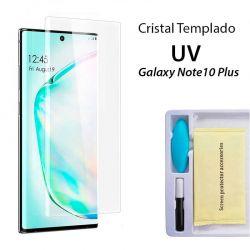Protector Pantalla Cristal Templado UV Curvo para Samsung Galaxy Note 10 Plus