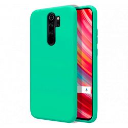 Funda de Silicona Líquida Suave para Xiaomi Redmi Note 8 Pro Verde mate