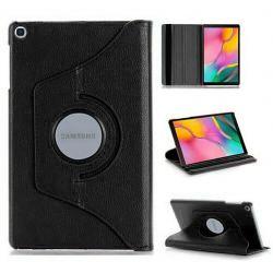 Funda con tapa Giratoria 360 para Samsung Galaxy Tab A 2019 10.1 Negro