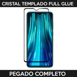 Protector pantalla Cristal Templado Full Glue Xiaomi Redmi Note 8 Pro Negro