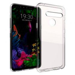 Funda de silicona transparente para LG G8S