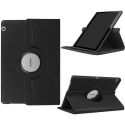 Funda con tapa Giratoria 360 para Huawei Mediapad T3 10 Negro