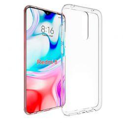 Funda de silicona transparente para Xiaomi Redmi 8