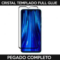 Protector pantalla Cristal Templado Full Glue Xiaomi Redmi Note 8 Negro