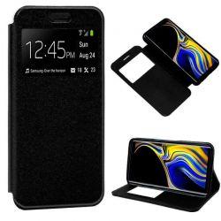 Funda libro con tapa, ventana y soporte - Samsung Galaxy Note 9 Negro