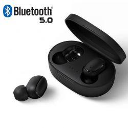 Auriculares Bluetooth A6S TWS Bluetooth 5.0 con caja de carga