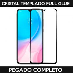 Protector pantalla Cristal Templado Full Glue Xiaomi Mi 9 Lite Negro