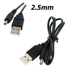 Cable de Carga para tablet con conector de 2.5mm