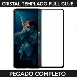 Protector pantalla Cristal Templado Full Glue Huawei Nova 5T / Honor 20 Negro
