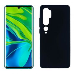 Funda de silicona Negra para Xiaomi Mi Note 10