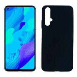 Funda de silicona negra para Huawei Nova 5T / Honor 20