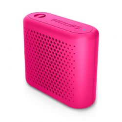 Altavoz Bluetooth inalámbrico portátil Philips BT55P Rosa