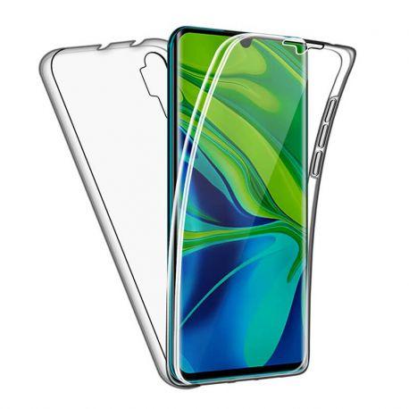 Funda Doble Cara Completa 360 Sin Puntos para Xiaomi Mi Note 10