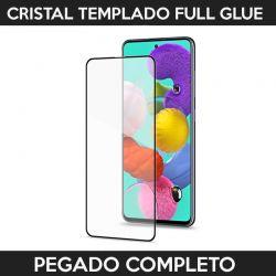 Protector pantalla Cristal Templado Full Glue para Samsung Galaxy A51