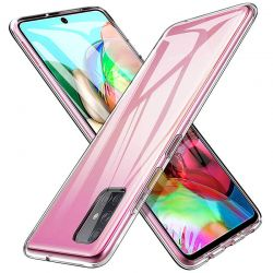 Funda de Silicona Transparente Samsung Galaxy A71