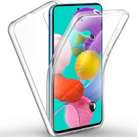 Funda Doble Cara Completa 360 Sin Puntos para Samsung Galaxy A51