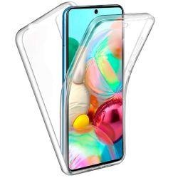 Funda Doble Cara Completa 360 Sin Puntos para Samsung Galaxy A71