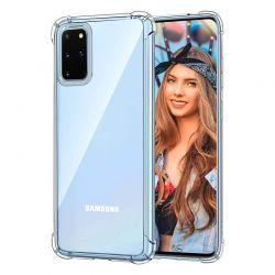 Funda de esquinas reforzadas transparente para Samsung Galaxy S20 Plus