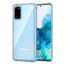 Funda de esquinas reforzadas transparente para Samsung Galaxy S20
