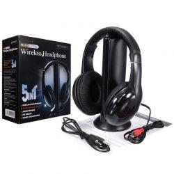 Auriculares inalámbricos para TV 5 en 1 HiFi S-XBS MH2001