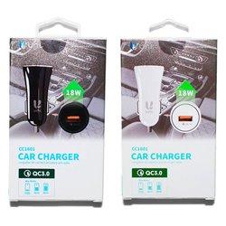 Cargador de móvil para Coche de 3A 18W Quick Charge 3.0