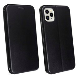 Funda con tapa para iPhone 11 Pro Forcell Elegance Negro