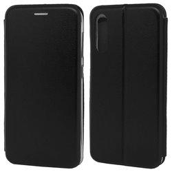 Funda con tapa para Samsung Galaxy A70 Forcell Elegance Negro