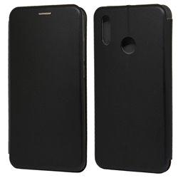 Funda con tapa para Huawei P Smart 2019 Forcell Elegance Negro