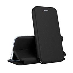 Funda con tapa para Xiaomi Redmi 8A Forcell Elegance Negro