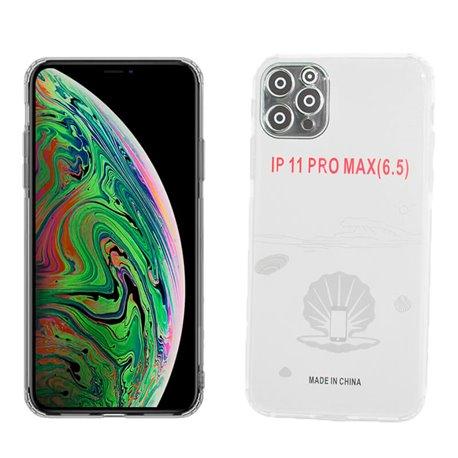 Funda de silicona con protector para cámara - iPhone 11 Pro Max