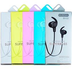 Auriculares de botón intrauriculares Super bass de varios colores
